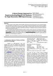 A Novel Design Approach to Superconducting Magnet Coil Systems ...