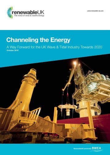 Channeling the Energy - Marine Renewables Canada