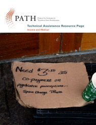 Technical Assistance Resource - PATH - Substance Abuse and ...