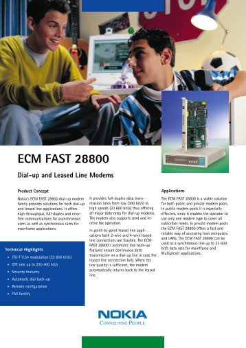 ECM FAST 28800