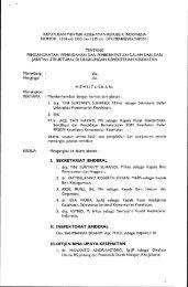 Daftar Nama Pejabat Eselon II - Ropeg Kemenkes