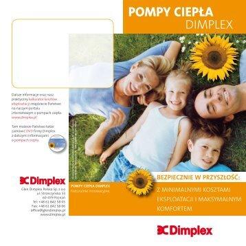 POMPY CIEPŁA - Dimplex