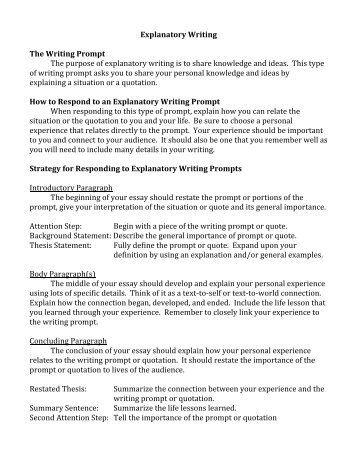 explanatory essay middle school Text evidence expository essay writing this comprehensive common core aligned writing resource includes everything you need to teach your students how to write an.