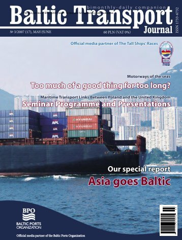 Asia goes Baltic Our special report - Baltic Press