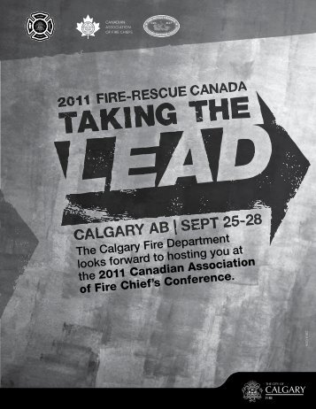 The Calgary Fire Department looks forward to hosting you at the ...