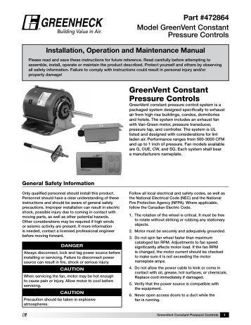 Greenheck Ecm Motor Wiring