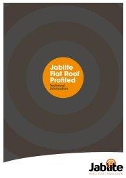Jablite Flat Roof Profiled Classic