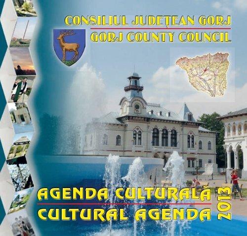 Agenda culturală 2013 - Consiliul Judeţean Gorj