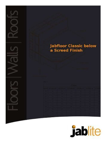 Classic Screed Finish - Jablite