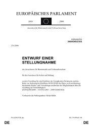 Der Bericht zur Fernsehrichtlinie - Heide Rühle