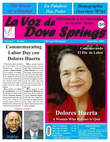 La Voz de Dove Springs September 2005 internet.pmd