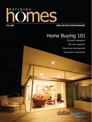 Defining Homes 1-24:pages 1-9 (engine) - Dallas Voice