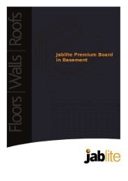 Floor Insulation - Jablite