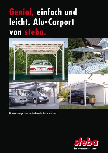 Gratis Prospekt (PDF) - Steba Kunststoffe AG