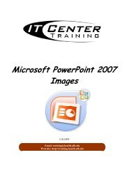 Microsoft PowerPoint 2007 Images - Academic Health Center Training