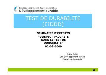 SPP Développement durable