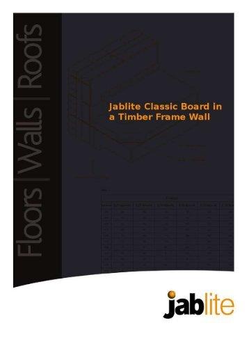 Wall insulation - Jablite