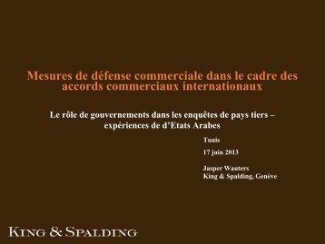 Le rôle des autorités du pays exportateur lors d'enquêtes de ... - ICDT