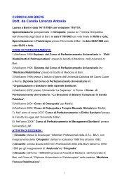 curriculum breve per Roma 2011.pdf - simferweb.net