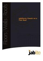 Jabtherm Classic on a Flat Roof - Jablite