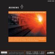 BOXNEWS - die BOX Medienagentur GmbH