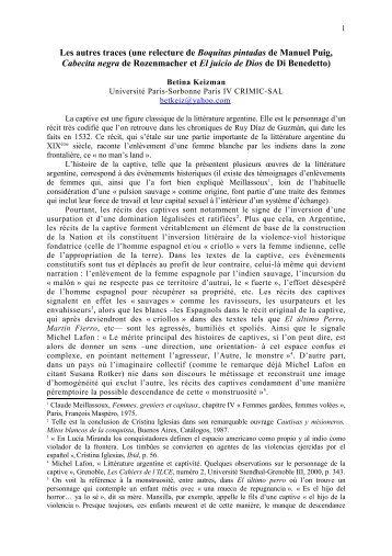 lire l'article - Université Paris-Sorbonne