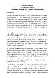 Lokaler Aktionsplan Sozialraum Blumenberg, Chorweiler, Seeberg ...