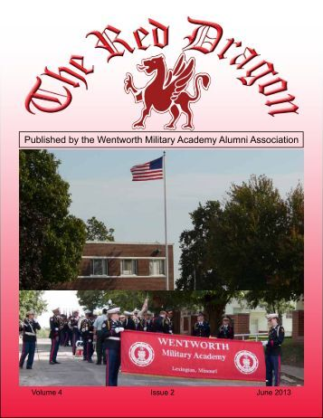 Red Dragon Vol 4, Issue 2 - Wentworth Military Academy & College