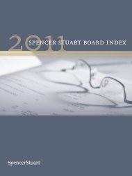 2011 Spencer Stuart Board Index