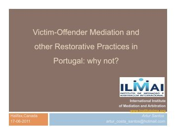 Victim-Offender Mediation and other Restorative Practices in ... - IIRP