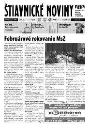 Štiavnické noviny 5 - Banská Štiavnica