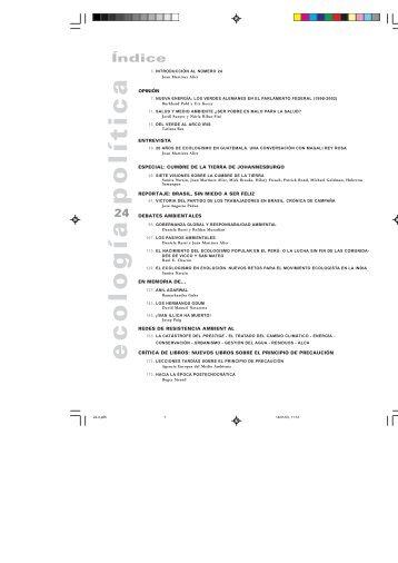 archivo de contenidos - Ecología Política
