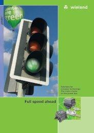 Motor starter podis® - Brochure (0833.1) - Wieland Electric