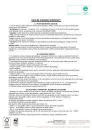 Ogólne warunki sprzedaży 15 marzec 2010 (pdf 142 kB) - Europapier