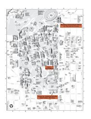 UC Berkeley map showing location of the Center for Japanese ...