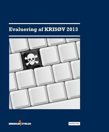KRISØV 2013  Evalueringsrapport