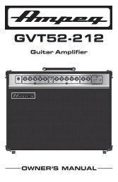 GVT52-212 - Ampeg