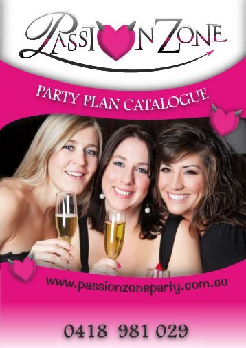 Passionzone Catalogue X6 A4 Size - V10 - Passionzone Adult Party ...