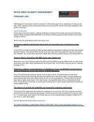 Media Week Celebrity Endorsement - ICM Research