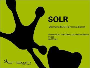 SOLR - Magento