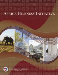 About the Africa Business Initiative - US Chamber of Commerce