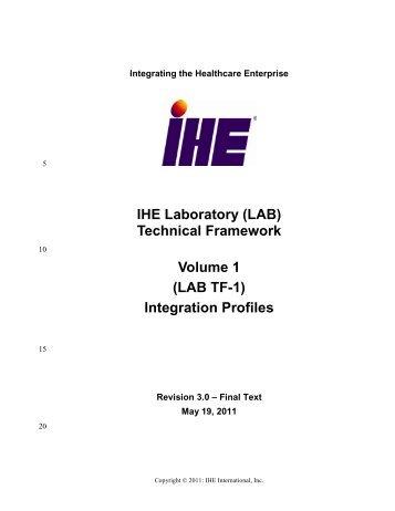 LAB TF-1 - IHE