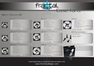 Case fans - Fractal Design