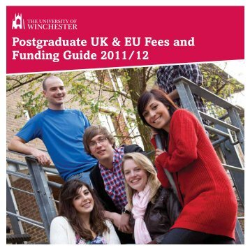Postgraduate UK & EU Fees and Funding Guide 2011/12