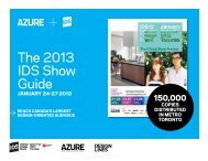 2013 Media Kit - Azure Magazine