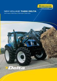 NEW HOLLAND T6000 DELTA - Agrartechnik Altenberge