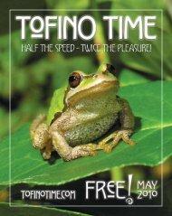 Tofino Time Magazine May 2010