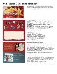 Weihnachten und seine Darsteller» (PDF) - Mosaicstones