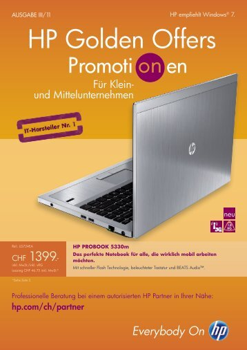 HP Golden Offers - AlphaCom Computertechnik GmbH