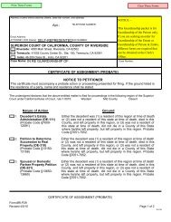 General Guardianship Packet - Superior Court, Riverside - State of ...
